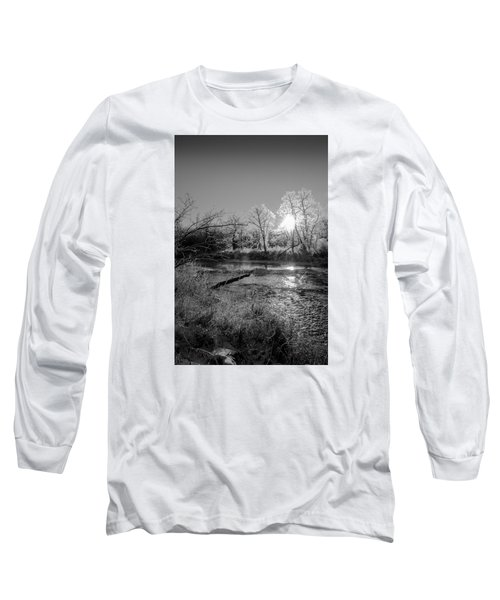 Long Sleeve T-Shirt featuring the photograph Rivers Edge by Annette Berglund
