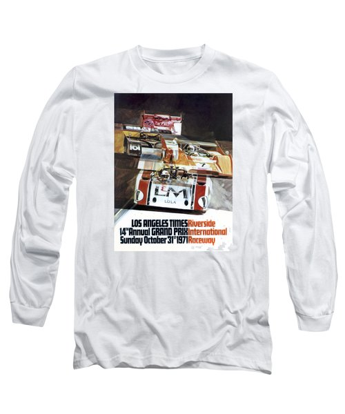 Riverside Can-am Long Sleeve T-Shirt by Peter Chilelli