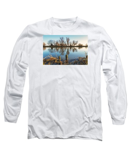 Riverside Trees Long Sleeve T-Shirt