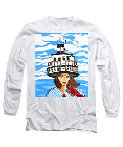 R.m.s. Segwun - Delivering The Mail  Long Sleeve T-Shirt