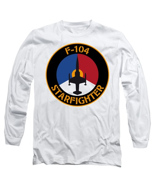 Rnlaf F-104 Starfighter Long Sleeve T-Shirt by Nop Briex