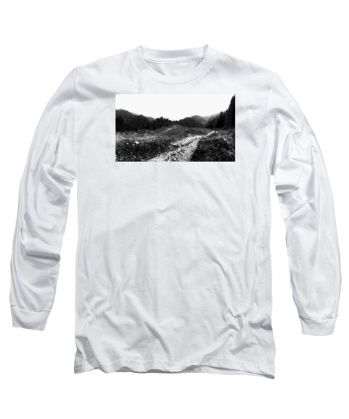 Road Long Sleeve T-Shirt by Hayato Matsumoto
