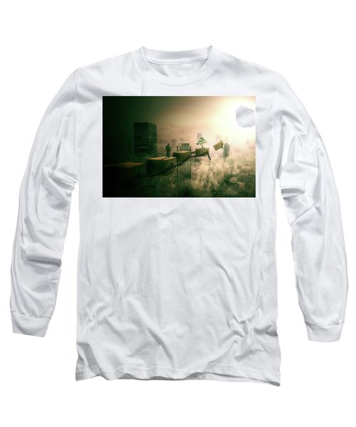 Road To Recovery  Long Sleeve T-Shirt by Nathan Wright
