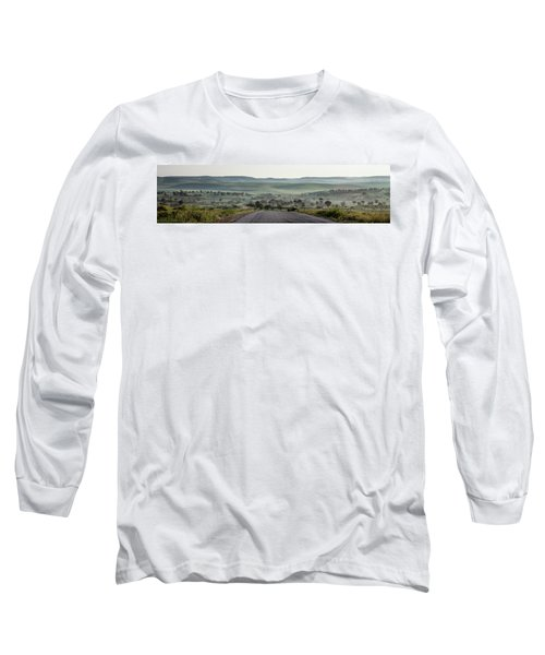 Road To The Forest Long Sleeve T-Shirt by Yoel Koskas