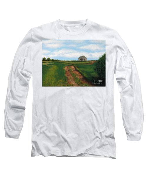 Road To The Past Long Sleeve T-Shirt by Billinda Brandli DeVillez