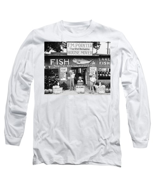 Roadside Stand Near Birmingham, Alabama Long Sleeve T-Shirt