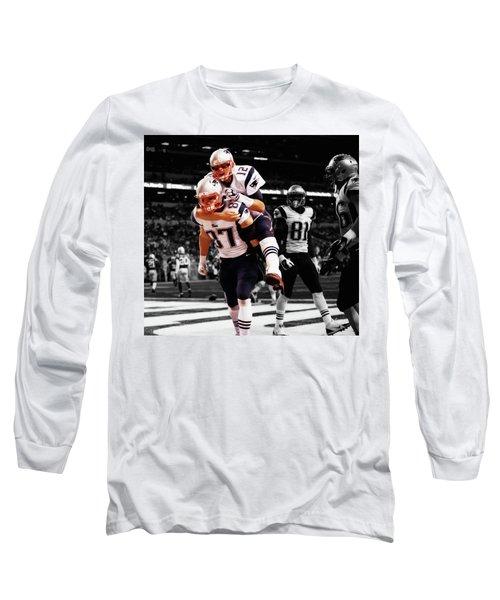 Rob Gronkowski And Tom Brady Long Sleeve T-Shirt