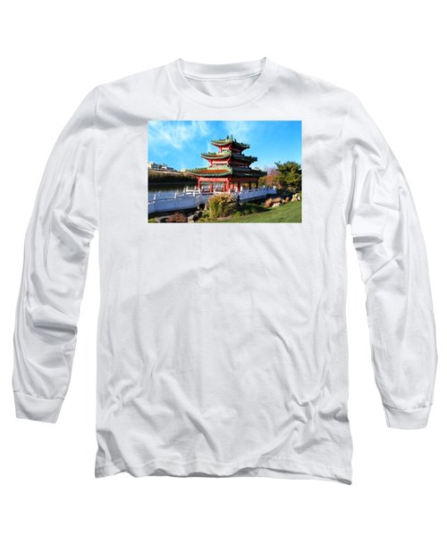 Robert D. Ray Asian Garden Long Sleeve T-Shirt