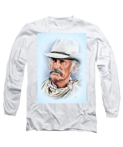 Robert Duvall As Gus Mccrae Long Sleeve T-Shirt