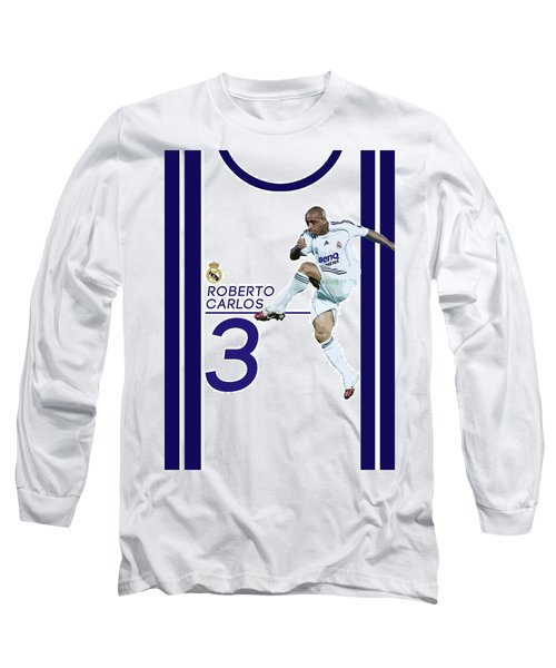 Roberto Carlos Long Sleeve T-Shirt by Semih Yurdabak