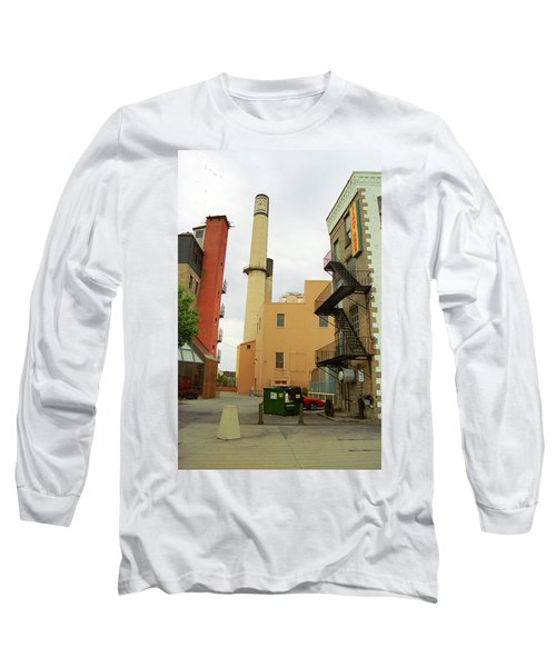 Rochester, Ny - Behind The Bar And Factory 2005 Long Sleeve T-Shirt by Frank Romeo