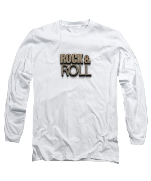 Rock And Roll Tee Stone Long Sleeve T-Shirt