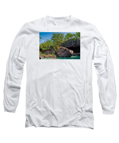 Rock And Trees Long Sleeve T-Shirt