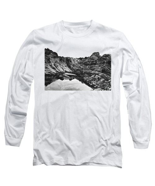Long Sleeve T-Shirt featuring the photograph Rock by Rebecca Harman