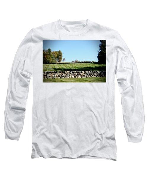 Rock Wall Lawn Long Sleeve T-Shirt
