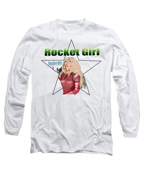 Rocket Girl Long Sleeve T-Shirt