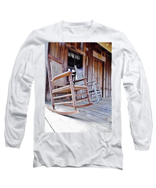 Rocking On The Front Porch Long Sleeve T-Shirt