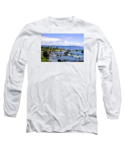 Rocky California Coastline Long Sleeve T-Shirt