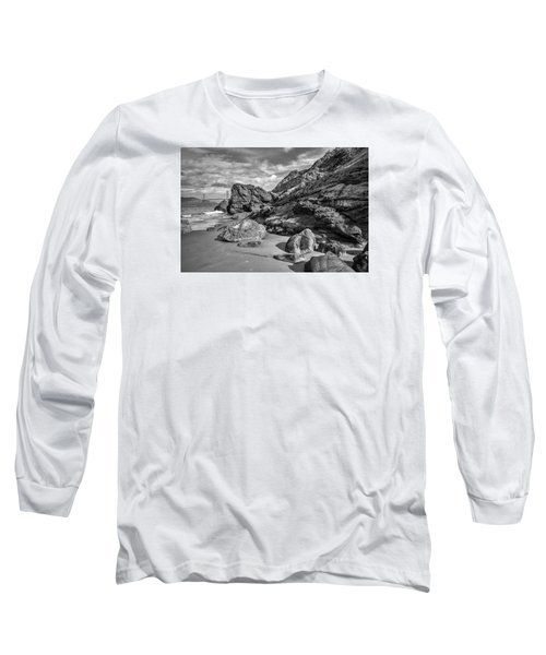 Rocky China Beach San Francisco Long Sleeve T-Shirt