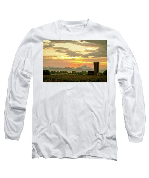 Long Sleeve T-Shirt featuring the photograph Rocky Mountain Front Range Country Landscape by James BO Insogna