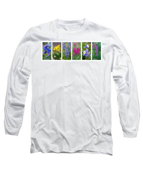 Rocky Mountain Wildflower Collection Long Sleeve T-Shirt