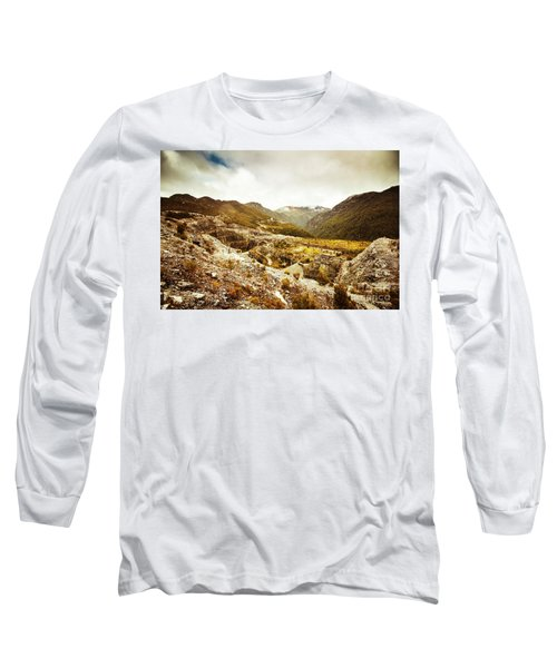 Rocky Valley Mountains Long Sleeve T-Shirt