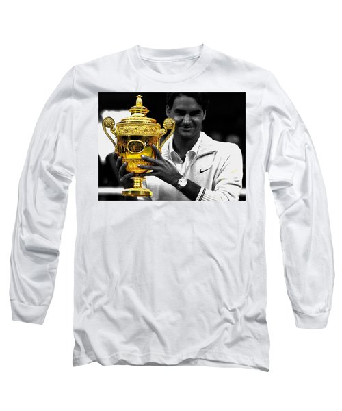 Roger Federer 2a Long Sleeve T-Shirt