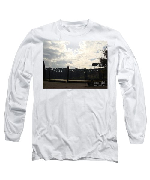 Roma, Villa Borghese Long Sleeve T-Shirt