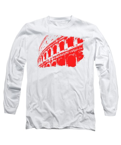 Roman Colosseum View Long Sleeve T-Shirt