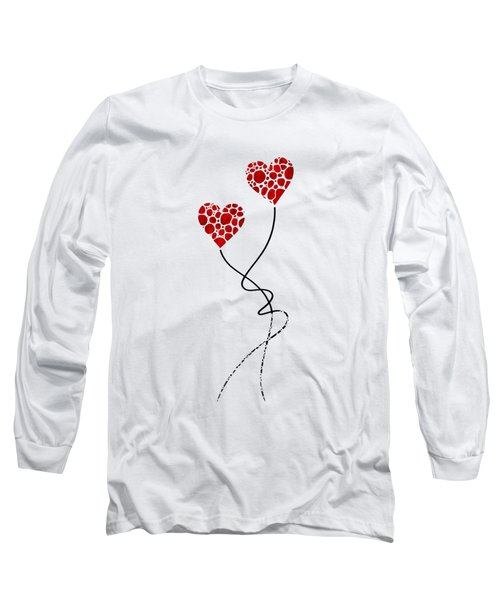 Romantic Art - You Are The One - Sharon Cummings Long Sleeve T-Shirt by Sharon Cummings