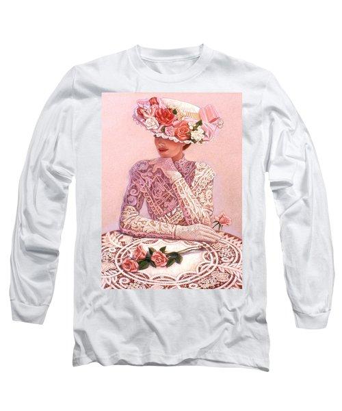 Romantic Lady Long Sleeve T-Shirt