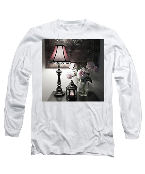 Long Sleeve T-Shirt featuring the photograph Romantic Nights by Sherry Hallemeier