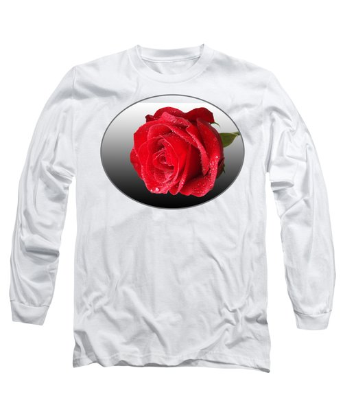 Romantic Rose Long Sleeve T-Shirt