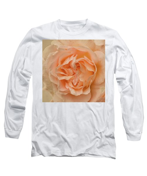Romantic Rose Long Sleeve T-Shirt by Jacqi Elmslie