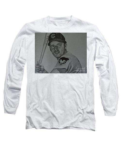 Ron Santo Portrait Long Sleeve T-Shirt
