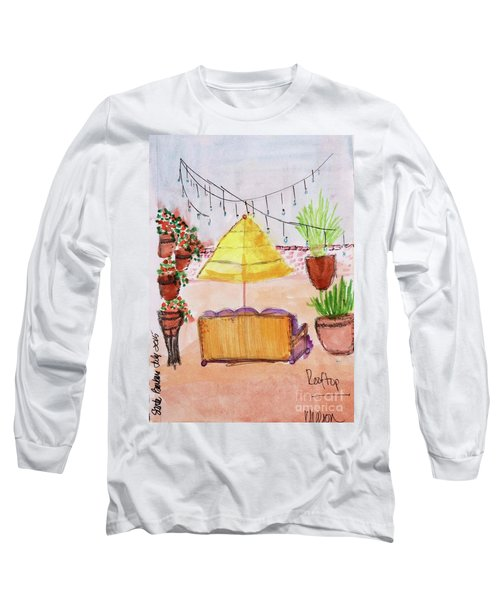 Rooftop At The Canary Long Sleeve T-Shirt