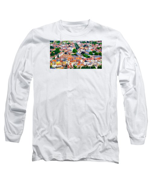 Long Sleeve T-Shirt featuring the photograph Rooftops by Pravine Chester
