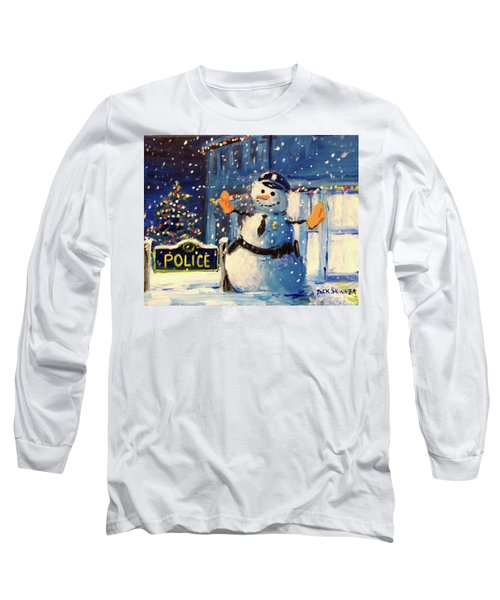 Rookie Working Christmas Eve Long Sleeve T-Shirt
