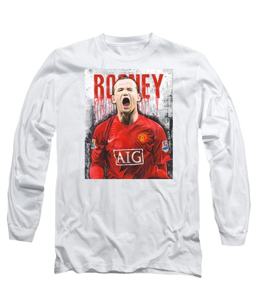 Rooney Long Sleeve T-Shirt by Jeff Gomez