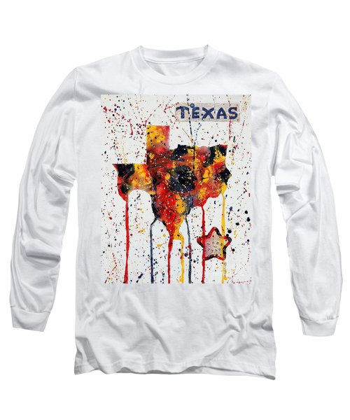 Rooted In Texas Long Sleeve T-Shirt by Tamyra Crossley