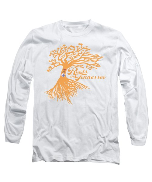 Roots In Tn Orange Long Sleeve T-Shirt