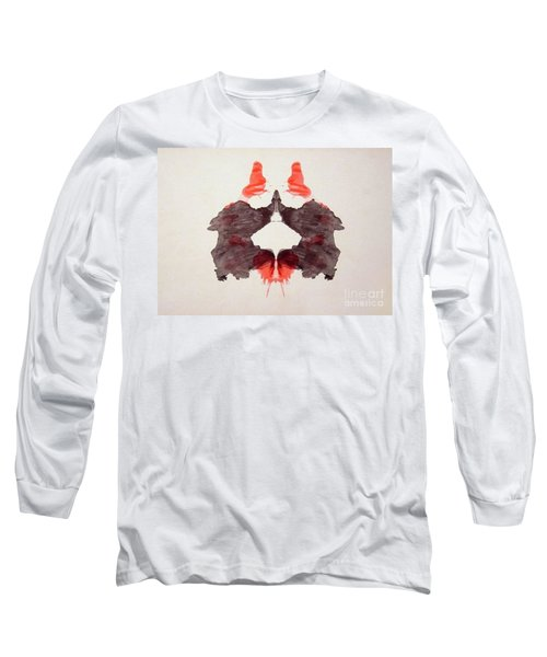 Rorschach Test Card No. 2 Long Sleeve T-Shirt