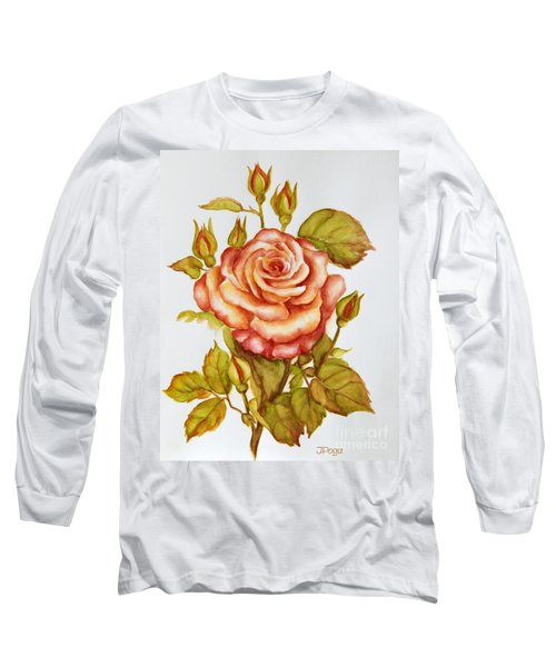 Rose For My Mom Long Sleeve T-Shirt