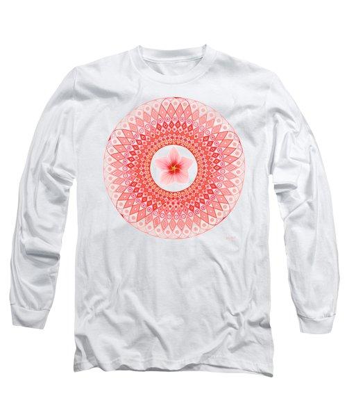 Rose Of Sharon - Hibiscus Long Sleeve T-Shirt