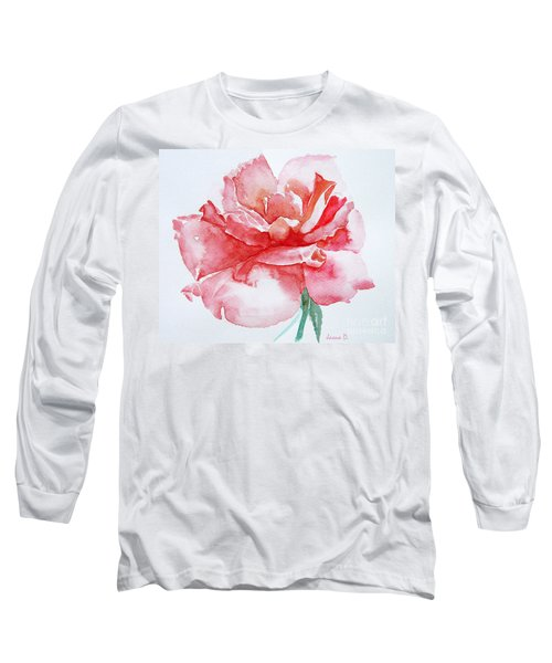 Rose Pink Long Sleeve T-Shirt