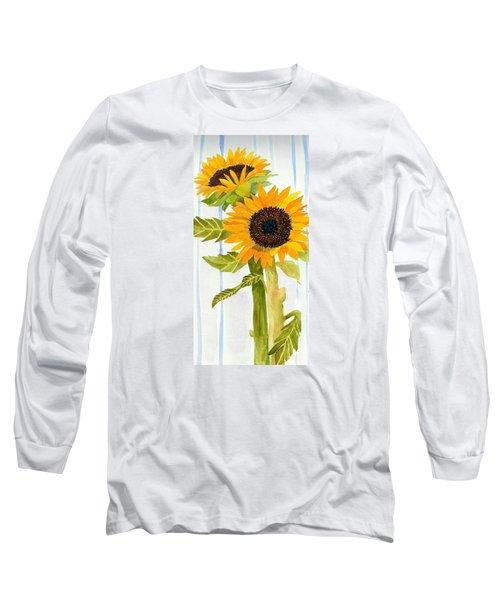 Rosezella's Sunflowers II Long Sleeve T-Shirt