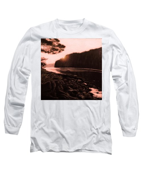 Rosy Glow Of Morning Long Sleeve T-Shirt