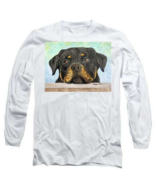 Rottweiler's Sweet Face 2 Long Sleeve T-Shirt