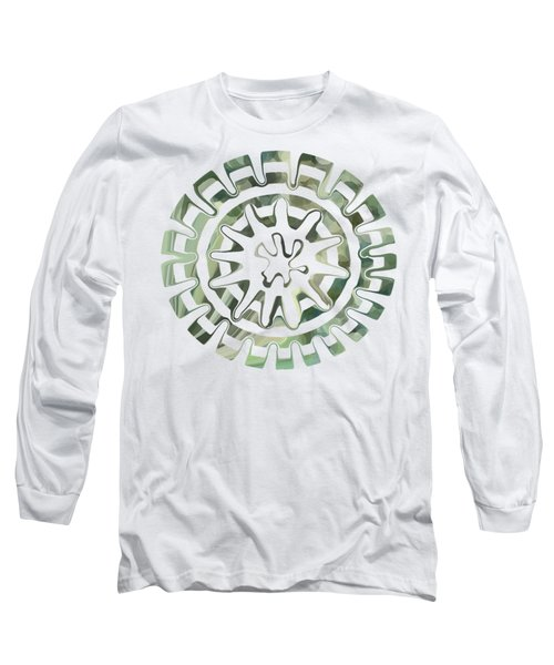Round About Green Long Sleeve T-Shirt