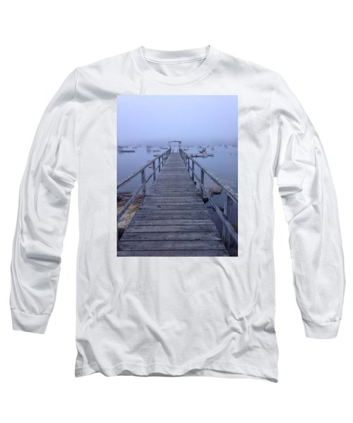 Round Pond Long Sleeve T-Shirt by Olivier Calas